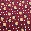 50 160cm Betty Lycra Knitted Cotton Fabric For Patchwork 4 Way Scalable Cartoon Cloth DIY Sewing
