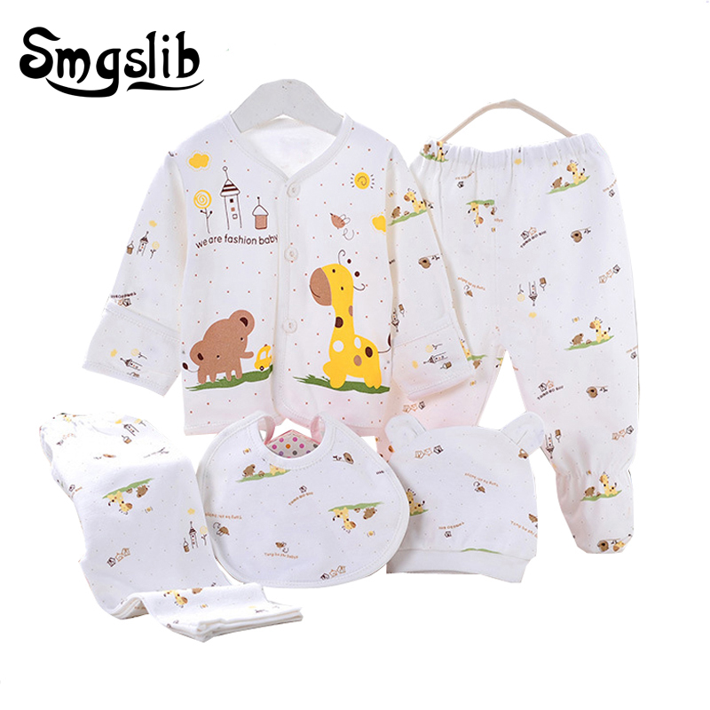 0-3 months baby clothes 5pcs/lot Newborn baby girl clothes summer/Spring Cotton infant clothing 1st birthday outfits baby gift 3pcs set newborn infant baby boy girl clothes 2017 summer short sleeve leopard floral romper bodysuit headband shoes outfits