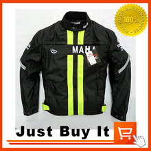 2016 Great Quality Racing Motorcycle Jacket With reflection strip Suits Protective Gears Detachable cotton liner protectors