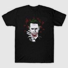 T Shirt Men Suicide Squad Joker Shirt Round Neck Casual T-Shirt Plus size Tops tees