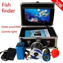 """"""" 30 М HD визуальная подводная камера рыбоискатель рыболовная камера морской gps"""