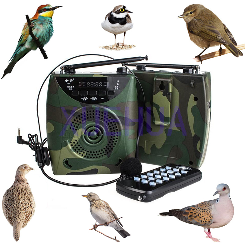 New Hunting Decoy 800 Bird sound Wireless Remote Built in Battery Bird caller hunting electronic decoy With Headset genuine leather women s shoulder bag fashion patchwork plaid women cross body bags colorful tote lady messenger bag