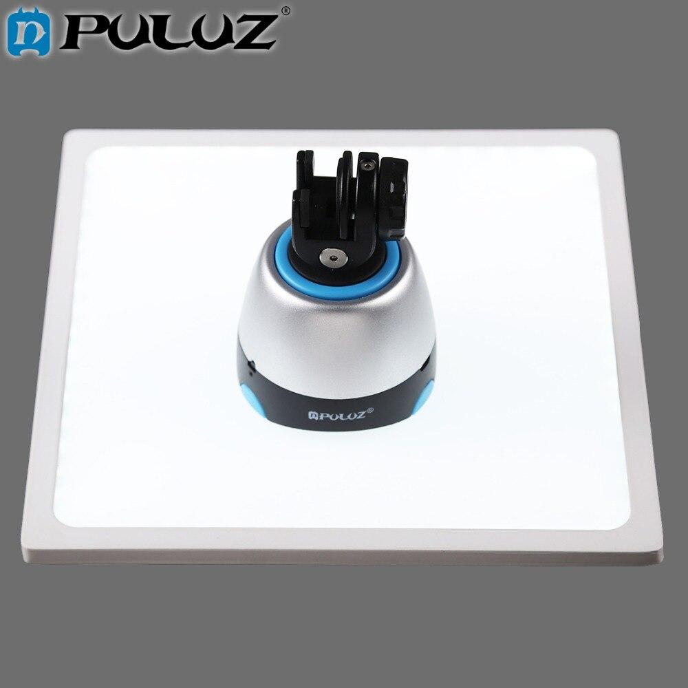 PULUZ Mini 22.5 LED Photographie Sans Ombre Fond Lumière la Lumière sans Ombre Lampe Panneau Pad pour 20 cm Photo Studio boîte lightboxs