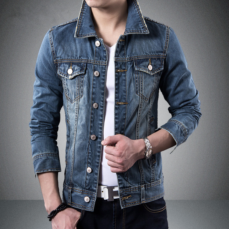 Jean Jacket Outfits for Men Promotion-Shop for Promotional Jean