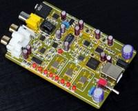Geassembleerd DSD1796 + MAX441 + XMOS U8 Met coaxiale/hoofdtelefoon amp dac decoders board