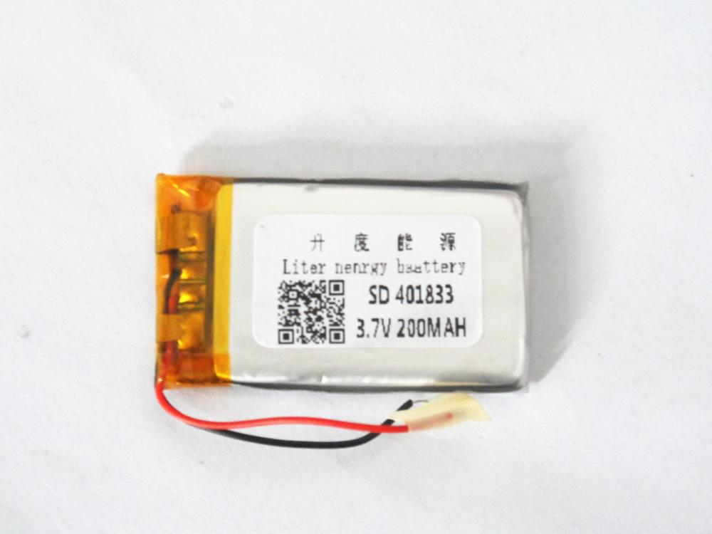 Batterien Angemessen Lithium-polymer Batterie 401833 3,7 V 200 Mah 401830 Mp3 Bluetooth Diy Audio/spielzeug Hohe QualitäT Und Preiswert