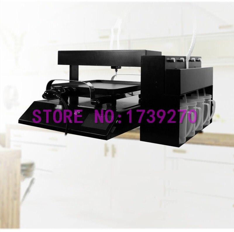 2018 Обновлен красочные блин принтера, блины и кофе, art питания принтера
