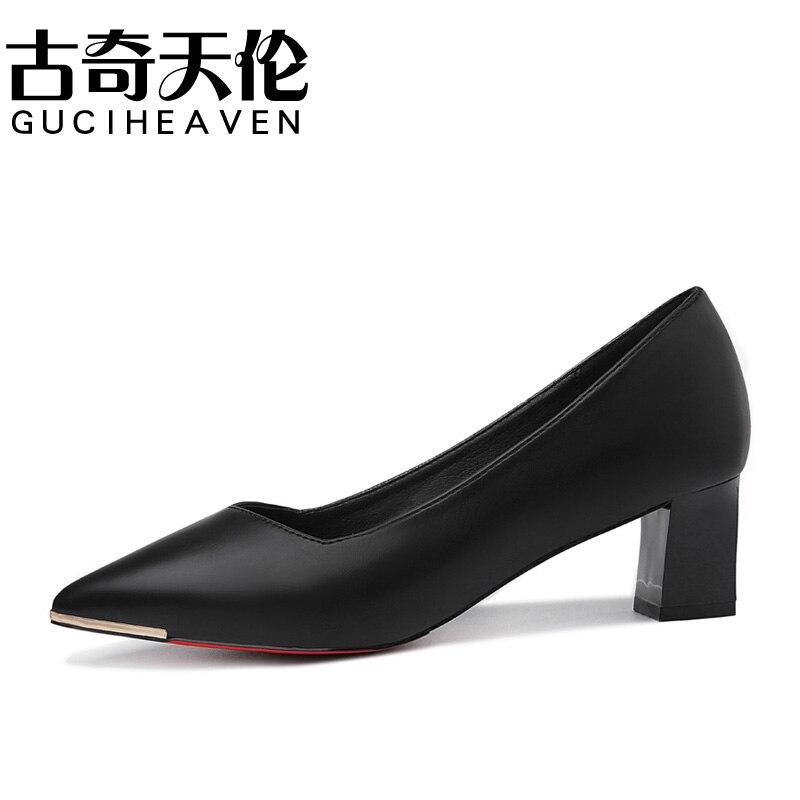 Guciheaven High heels shoes 5 cm women pumps platform shoes party wedding elegant fashion shoes single shallow big size 35-40