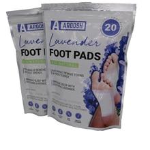 20 шт./пакет токсин удаление пластырь для ног расслабляющий Детокс пластырь для ног 2 в 1 пластырь для Детокс-программы