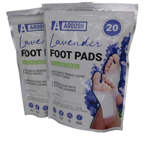 20pcs/bag Toxin Removing Foot Patch Relax Detox Pad 2 In 1