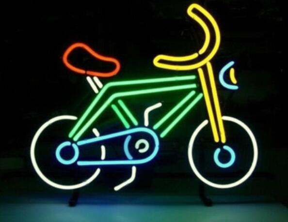 Custom Bicycle Bike Motocross Rider with Neon Light Beer Bar 2