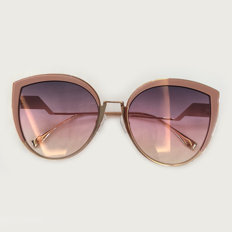 Cat Eye Sunglasses Women 2019 Brand Designer Alloy Frame Vintage Women Fashion Sun Glasses High Quality