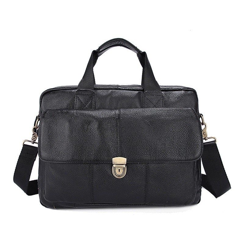 Man  Business Laptop Bag For Men Briefcases Leather Bags Men's Briefcase Bag Men's Genuine Leather Bags Male