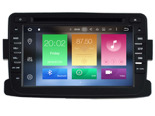 Android 6.0 CAR Audio reproductor de DVD PARA RENAULT Dacia/Duster/Logan gps dispositivo unidad principal Multimedia receptor BT WIFI
