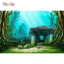 Yeele Submarine Forest Stone Hole Tree Amazing Child Photography Backgrounds Customized Photographic Backdrops for Photo Studio