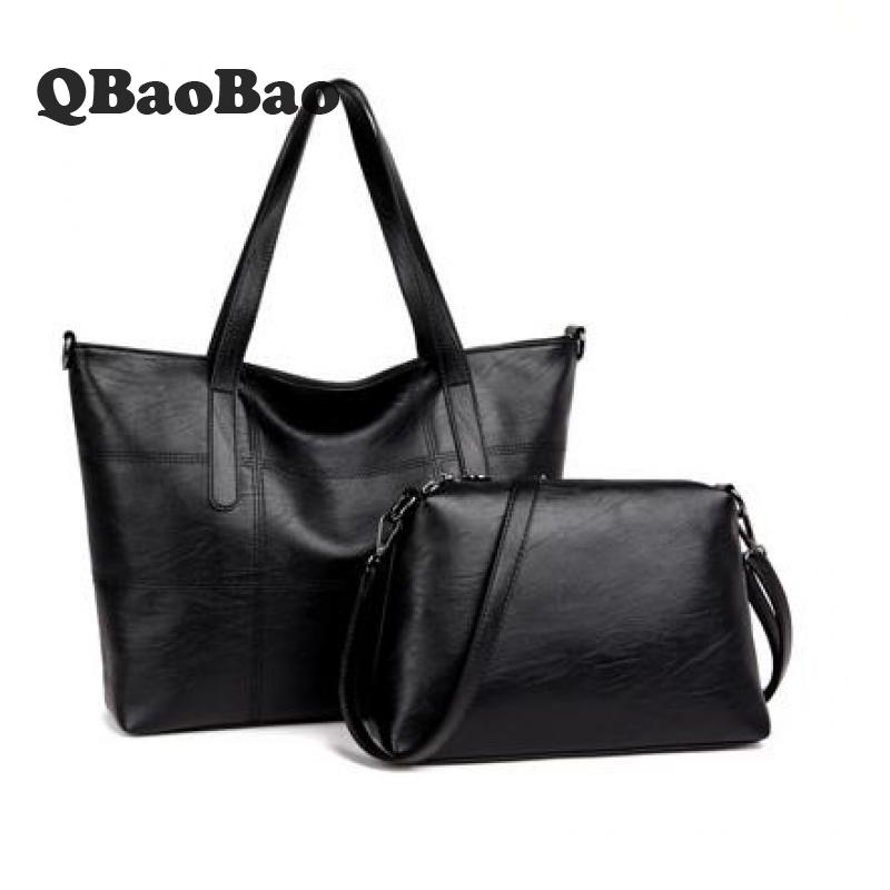 Large Capacity Women Bag Shopping Tote Hand Bag Sheepskin Leather Fashion Female Handbag Composite Casual Shoulder Bag miesati luxury 3 sets handbag women composite bag female large capacity tote bag fashion shoulder crossbody bag small purse