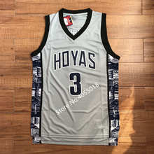 14331d0e398 Retro Mens #3 Allen Iverson Georgetown Hoyas Throwback College Stitched  Basketball Jersey Stitched S-