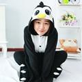 Pinguim onesie anime pijama anime cosplay unisex adulto macacão pijamas dress tamanho do pinguim