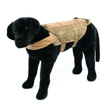Chaleco táctico de gran raza para perros, equipo táctico para fanáticos del ejército, ropa para perros, correas de pecho K9