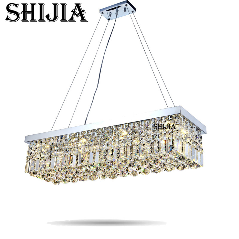 LED Top Sale 100% Guaranteed Free Shipping Modern Crystal Chandelier Pandent Lamp Have Many Size