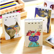 Free shipping Stationery the coil notepad notebook diy blank doodle small book