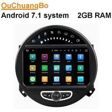Android 7.1 автомобильный навигатор стерео радио для Mini Cooper 2006-2013 с MP3 Bluetooth французский gps-навигации 2 ГБ Оперативная память