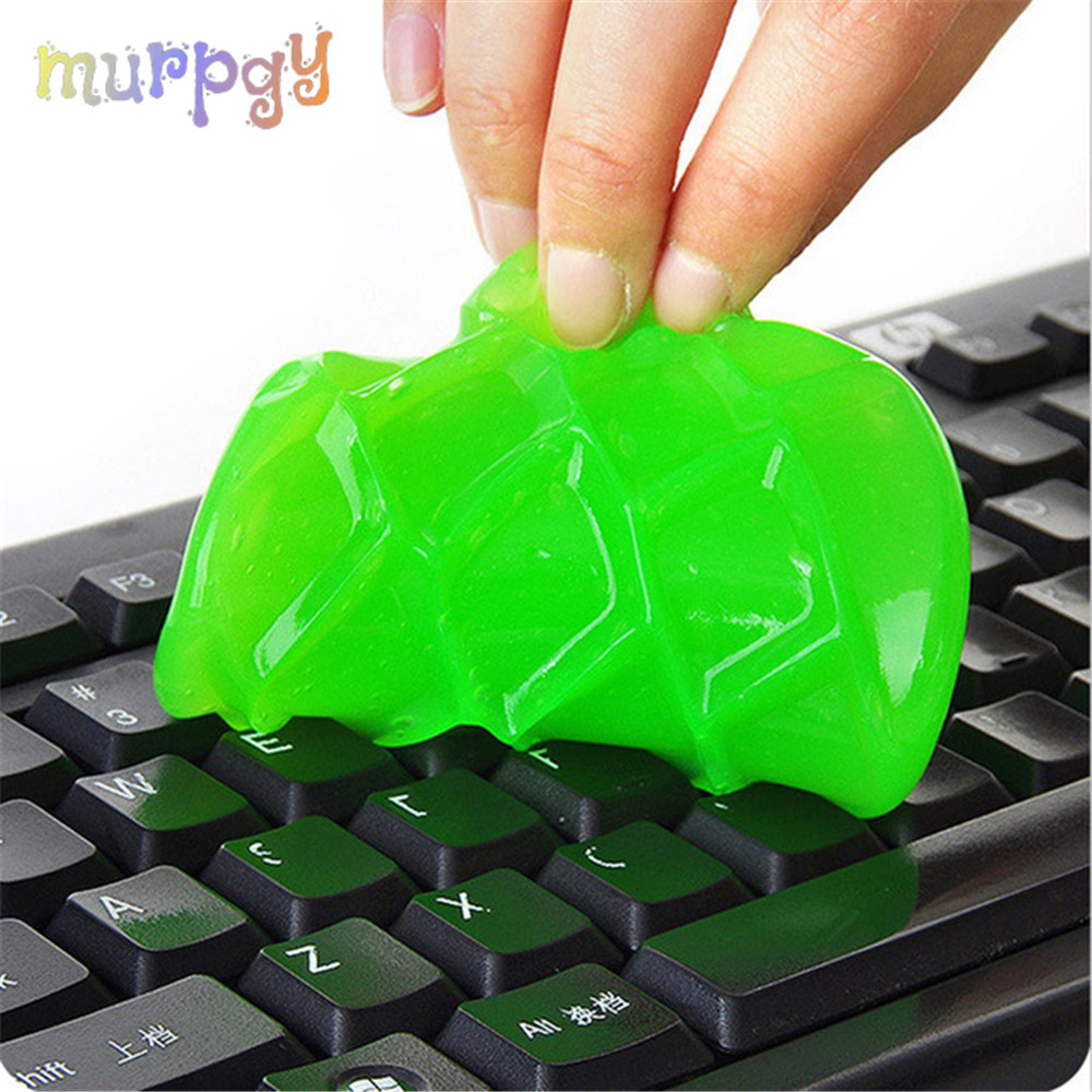 50g Keyboard Laptop Lizun Cloud Slime Glue Magic Gel Super Dust Clean Clay Mud Addition Fluffy Slime Toys For Keyboard Kids Gift