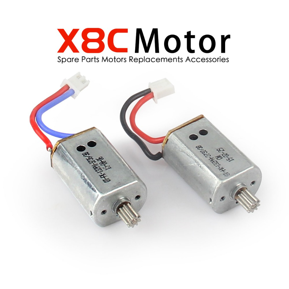 Original Syma X8C Motor / Syma X8W Motor / Syma X8G Motor original Syma X8C spare parts X8C-10-11 RC Quadcopter Accessories syma x8 x8c x8w x8g 2 4g rc drone quadcopter parts x8c 1 2 main body body shell 1set 2pcs lot free shipping