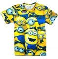 Drop shipping! Summer clothes women/men tshirt despicable minions t shirt 3d print cartoon character ladies t-shirts tee tops