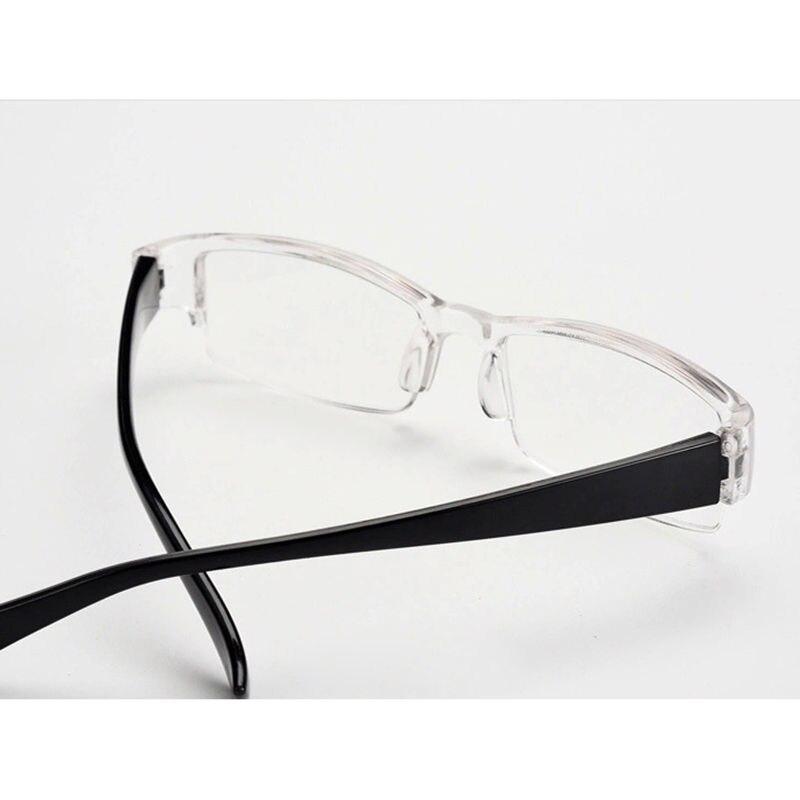 CALIENTE Elegante Ligero Transparente Gafas de Lectura Sin Montura + ...