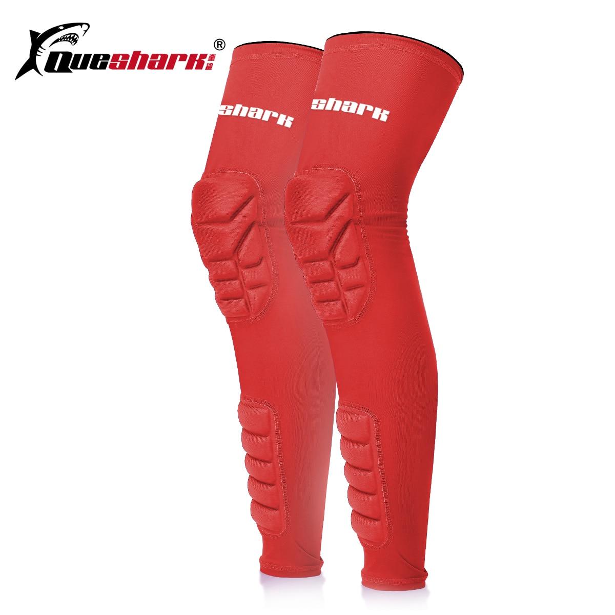 Honeycomb Long Basketball Legwarmers Knee Pad Volleyball Knee Brace Compression Running Leg Sleeve Socks Gym Sports Kneepads