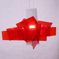 [Dec]65cm Modern White/Red Big Bang Suspension Light Pendant Lamp Ceiling Chandelier