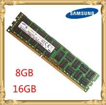 Samsung server memory DDR3 8GB 16GB 1333MHz 1600MHz 1866 ECC REG DDR3  PC3 12800R Register DIMM RAM 240pin 12800 8G 2RX4 X58 X79