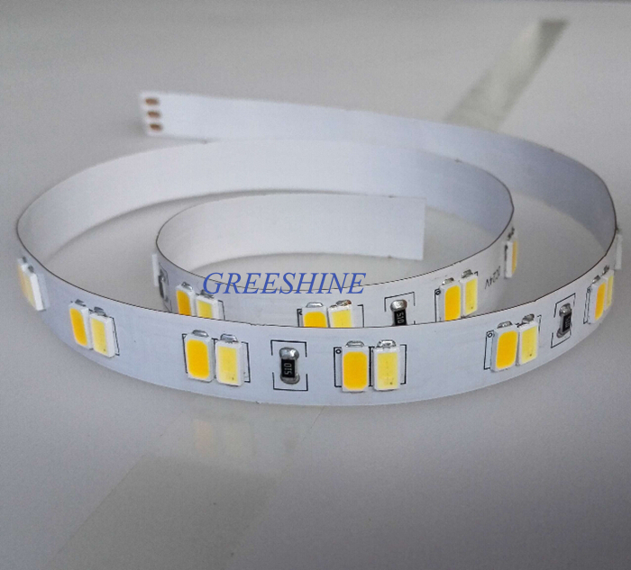 Two Color LED strip 5630 WW/NW/CW color temperature adjustable DC24V 112LED/m 33W/M CCT flexible strip light 5M Free shipping free shipping waterproof ip65 led panel 600x600mm high bright led chips with led driver ww nw cw color temperature aluminum pmma