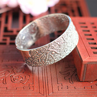2018 Sale Women Bangle Sterling Jewelry Design Women's Fashion Bracelets So Restoring Ancient Ways In The Sell Like Hot Cakes