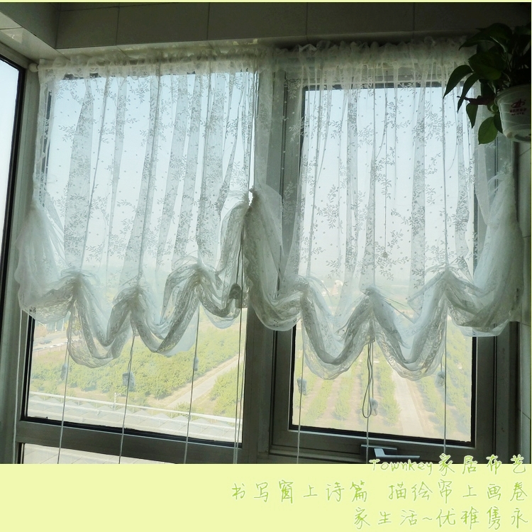 Modern living room curtains bedroom curtain beautiful white elegant curtain fancy curtains in - Beautiful curtains for living room ...