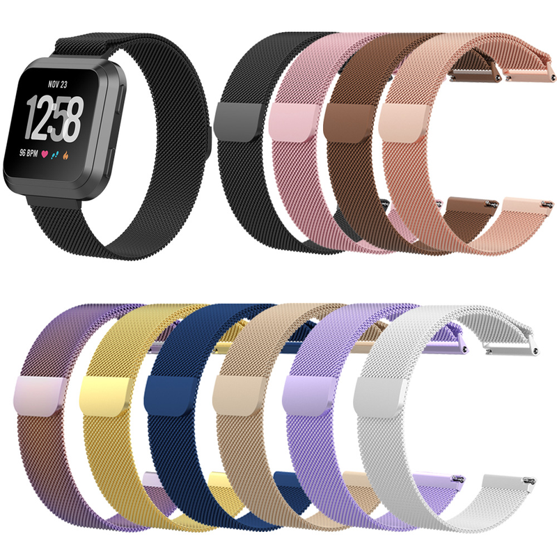 ZycBeautiful for Fitbit versa smart Watch Bracelet Milan circling net belt strap wrist strap