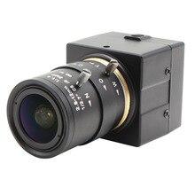 1.3MP HD Mini Monochrome Black White Low Light Indurstrial USB Camera OTG UVC Telescope USB Webcam With 2.8-12mm Varifocal lens