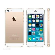 Used Apple Iphone 5S Unlocked Cell Phone 4.0″ screen 1GB RAM 16GB/32GB/64GB ROM Touch ID Fingerprint