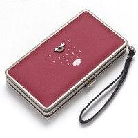 5938dc2ad Fashion Women Long Wallets Rainbow Woman Leather Zipper Wallet Female Card  Holder Purse Lady Standard Wallet. Mulheres moda Carteiras Longas Rainbow  Mulher ...