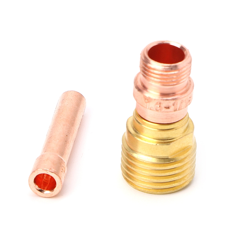 5PCS Wig-schweißbrenner Stubby Tasse Gas Collet Körper Objektiv Kit