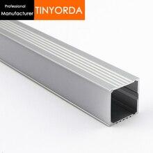 Tinyorda 500Pcs(2M Length) Led Alu Profile  Channel Profil for 30mm LED Strip Light [Professional Manufacturer]TAP3535
