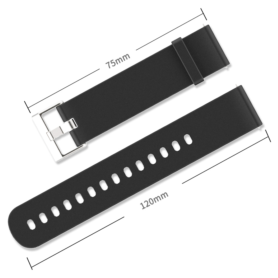 Mijobs 20mm spordi silikoonist randmepael Xiaomi Huami Amazfit Bip - Nutikas elektroonika - Foto 2