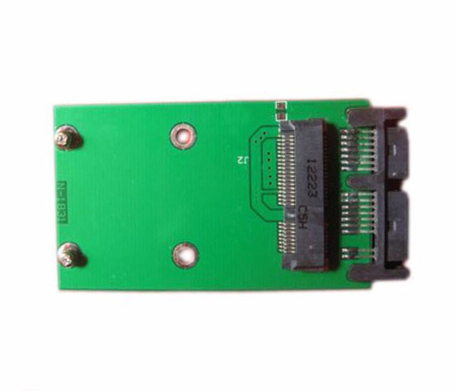 F05499 Mini Pci-e Sata to Microsata Msata to 1.8 Micro Sata Adapter Card Converter Cards