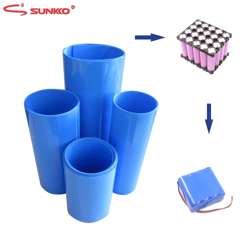 2 Meter PVC Heat Shrink Tube Shrinkable Tubing For 18650 Lithium Battery Pack Protection Insulation Heat Shrinkable Cable Sleeve