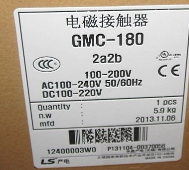 GMC-180 GMC-180 AC contactor gmc 220 ac electromagnetic contactor brand new