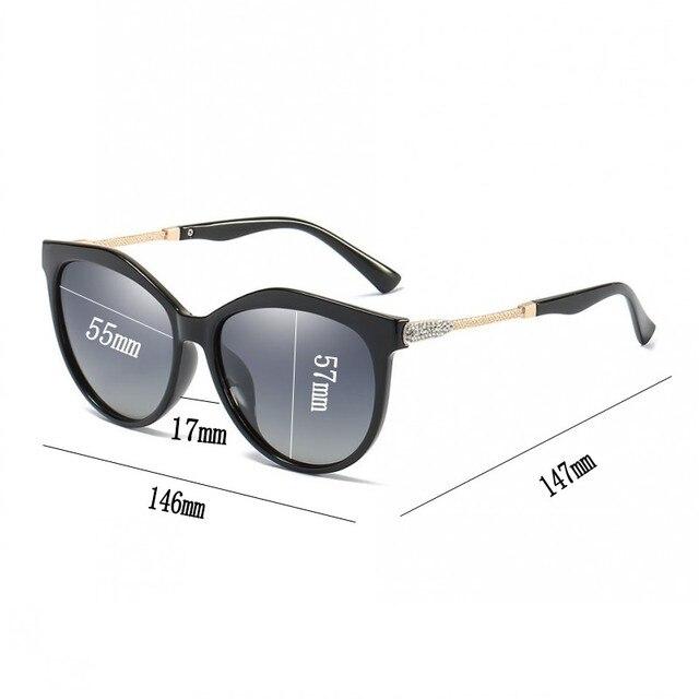 AAAA Polarized Sunglasses Women Shining Diamond Brand Design Square Shades Female Eyewear Mirror Sun Glasses Oculos Lunette 2
