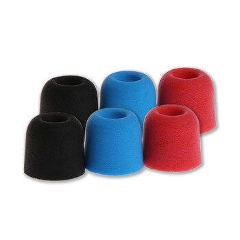 3 Pairs T100-T400 Earbud Anti-Sweat Soft Memory Foam Eartip For In-Ear Earphone