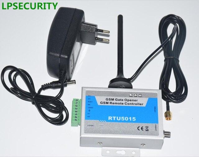 LPSECURITY Met adapter GSM gate opener, deuropener, remote gate controle, 999 gebruikers