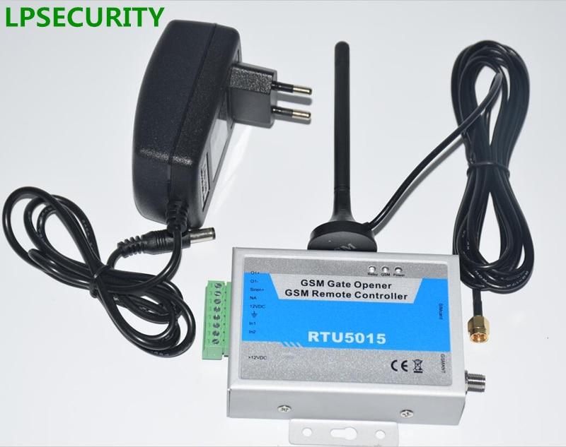 LPSECURITY With Adapter GSM Gate Opener, Door Opener,remote Gate Control,999 Users